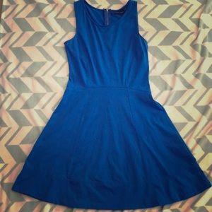 Cynthia Rowley Blue Flare Dress
